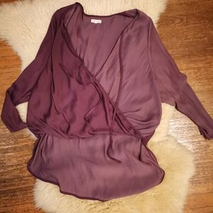 Silence and Noise wrap style top